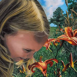 Summer Lilies by Ashley Koebrick Schmidt