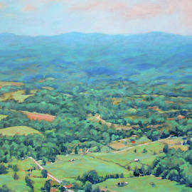 Summer of My Dreams - Summertime View of the Valley by Bonnie Mason