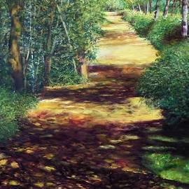 Summer Path by Sheldon Goldman