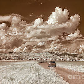 Summer Sky in Infrared by Norman Gabitzsch