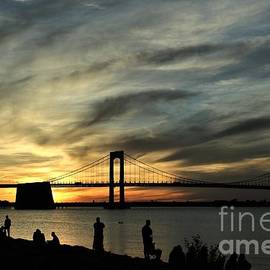 Dramatic Skies Over the Bay by Dora Sofia Caputo Photographic Design and Fine Art