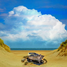 Sun Beached by Debra and Dave Vanderlaan