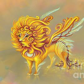Sun, fantasy creature by Yullapa Yuliya