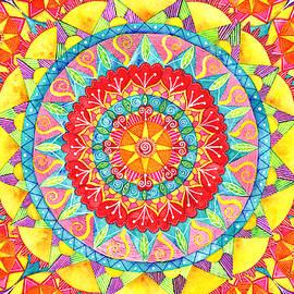 Sun Mandala by Shelley Wallace Ylst