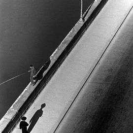 Sunday Morning Along The Arno River. A by Alfred Eisenstaedt