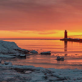Sundown at South Haven by Mike Griffiths