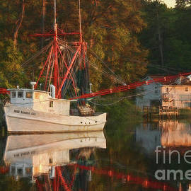 Sundown at the Calabash River by Michelle Tinger
