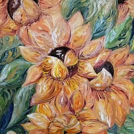 Sunflower Blitz by Eloise Schneider Mote