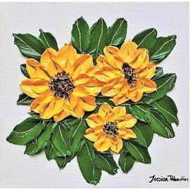 Sunflower Bouquet by Jessica T Hamilton