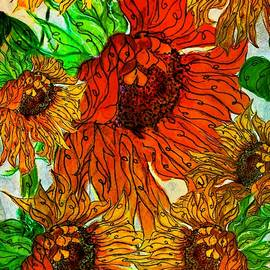 Sunflower Garden by Barbara Chichester