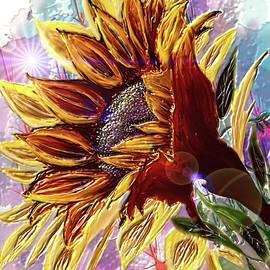 Sunflower In The Sun by Darren Cannell