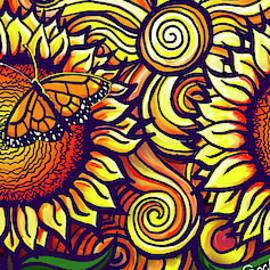 Sunflower Mug by David Sockrider