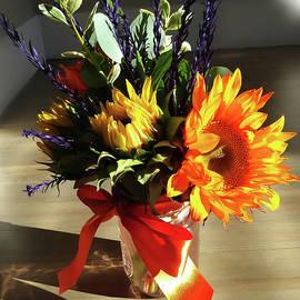 Sunflowers Autumn Bouquet  by Irina Sztukowski