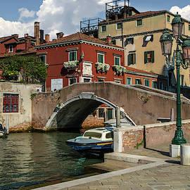 Sunny Morning In Venice by Jaroslaw Blaminsky