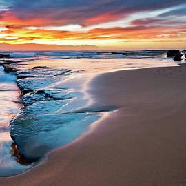 Sunrise At Turimetta by Bruce Hood