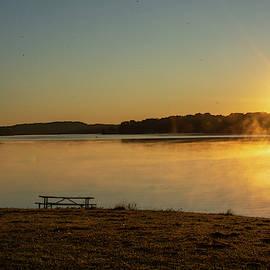 Sunrise by the Lake by Jennifer Wick