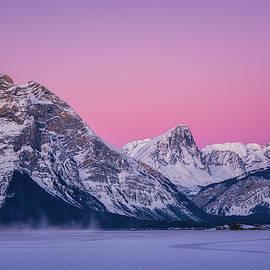 Yves Gagnon - Sunrise Canadian Rockies, Kananaskis, Alberta Canada