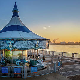 Sunrise Carousel by Pat Eisenberger