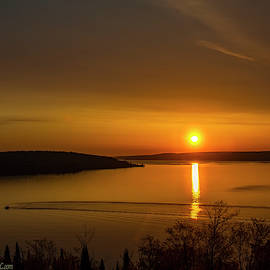 Sunrise Grand Island Harbor Outlook  by LeeAnn McLaneGoetz McLaneGoetzStudioLLCcom