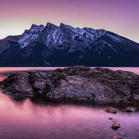 Yves Gagnon - Sunrise in the Canadian Rockies