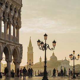 Sunrise in Venice by Randy Lemoine