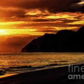 Sunrise Makapuu Point Lighthouse by Thomas R Fletcher
