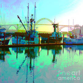 Sunrise of a New Day in Newport by Beverly Guilliams