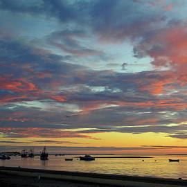 Sunrise Over Chatham Harbor by Dianne Cowen