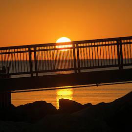 Sunrise Over Lake Huron by Allyson Schwartz