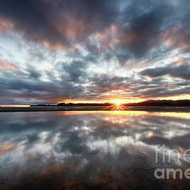 Sunrise Rathtrevor Beach 7 by Bob Christopher