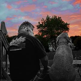 Waiting for Sunrise - Selective Color by Lori Kingston