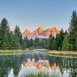 Sunrise Tetons by Paul Quinn