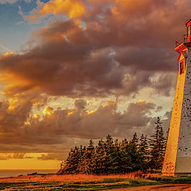 Sunset at Seacow Head by Marcy Wielfaert