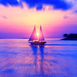 Sunset Blues by Iryna Goodall