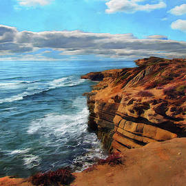 Sunset Cliffs Morning by Cedric Hampton