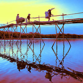 Sunset Crossing by Dominic Piperata
