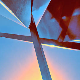 SUNSET EDGE Rise of Abstraction by William Dey
