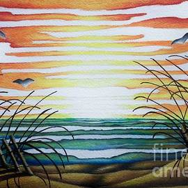 Sunset From Memories Original  by Breena Briggeman