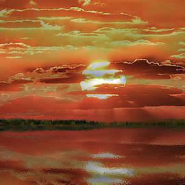 Sunset Lake by Bill Swartwout Fine Art Photography