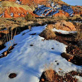 Sunset On Grand Wash In Capitol Reef by Ray Mathis