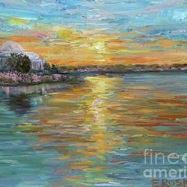 Sunset on Jefferson by Elizabeth Roskam