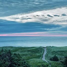 Sunset On The Ceilidh Trail by Jurgen Lorenzen