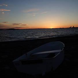 Sunset Over Boston by Robert Nickologianis