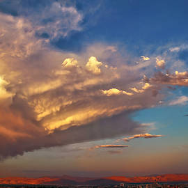 Sunset Over Reno by Donna Kennedy