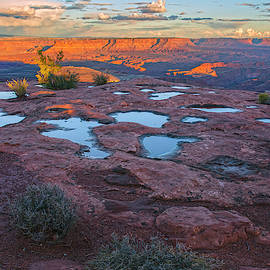 Sunset Potholes by Angelo Marcialis