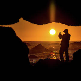 Sunset Silhouette by Jack Peterson