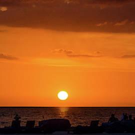Sunset - St Pete Beach 2 by Frank Mari