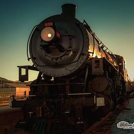Sunset Steam Train 539 by William Havle