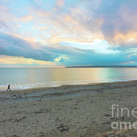 Sunset Stroll at Mounts Bay by Terri Waters