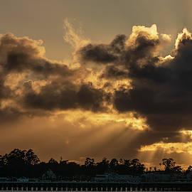 Sunset Sunbeams 2/17 by Bruce Frye